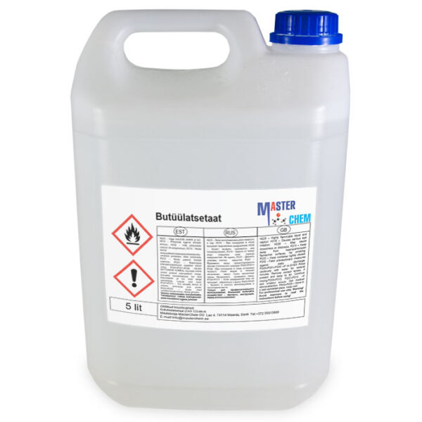 Butyl acetate (Бутилацетат) 5л MaterChem
