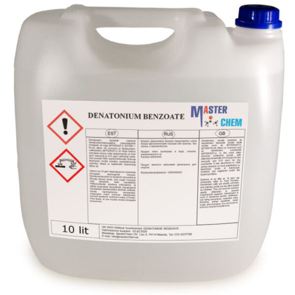 DENATONIUM BENZOATE 10l MasterChem
