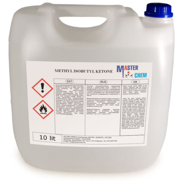 METHYL ISOBUTYL KETONE 10l MaterChem