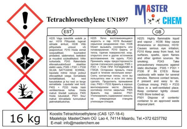 Tetrakloroetüleen (CAS 127-18-4) Masterchem