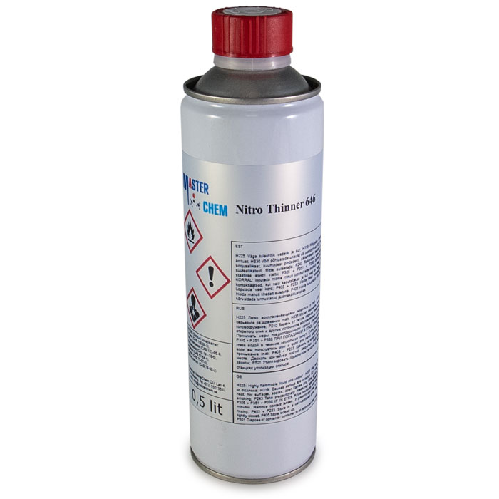 Nitrolahusti 646 UN1263 500ml MasterChem