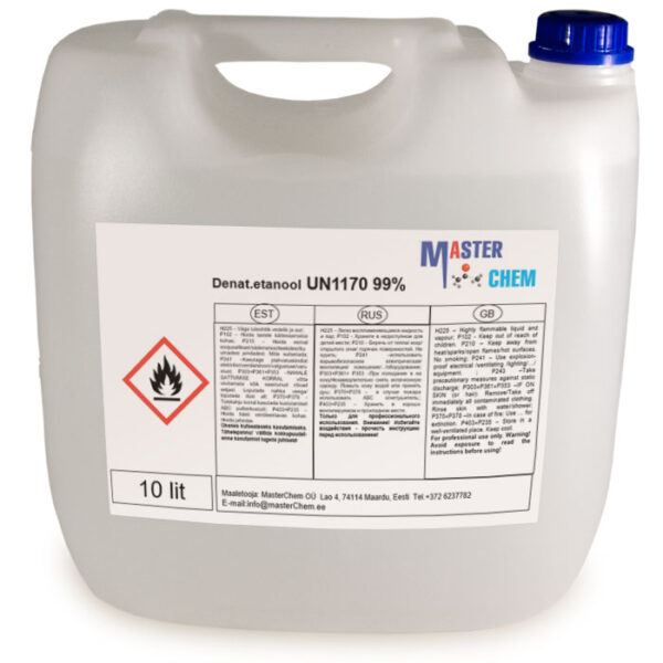 Etanool Denatureeritud 10l MaterChem