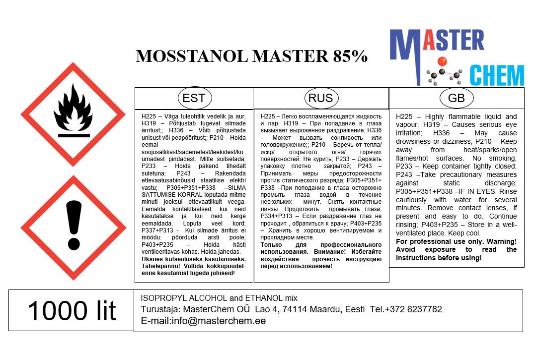 Mosstanol Master