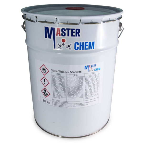 THINNER NITRO NS-5005 industrial thinner 20l MasterChem