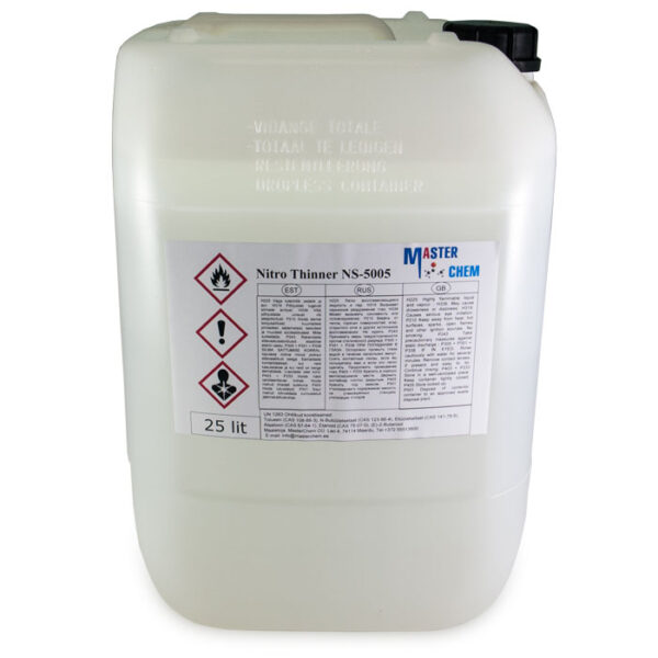 THINNER NITRO NS-5005 industrial thinner 25l MasterChem