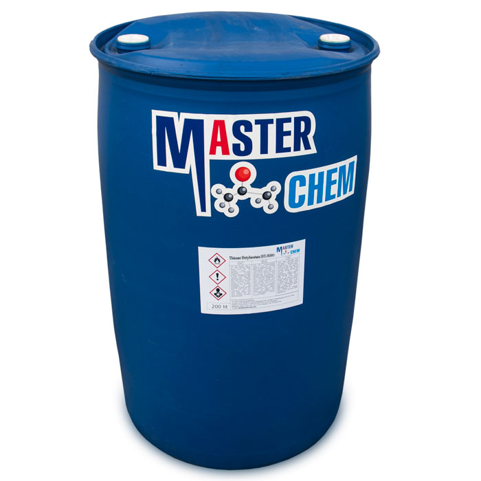 Thinner  Butyl acetate BT-5090 200l MasterChem