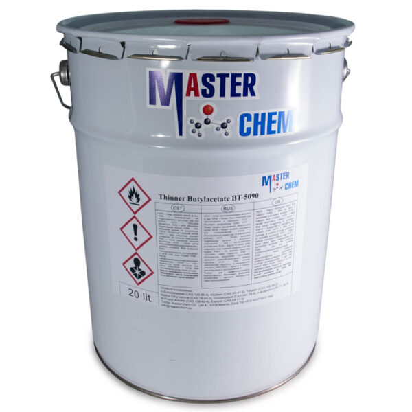 Thinner  Butyl acetate BT-5090 20l MasterChem