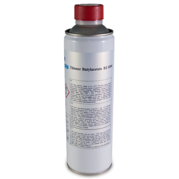 Butyyliasetaattiliuotin BT-5090  500ml MasterChem
