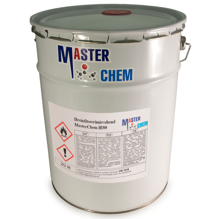 MasterChem IE80 disinfectant 20l MaterChem