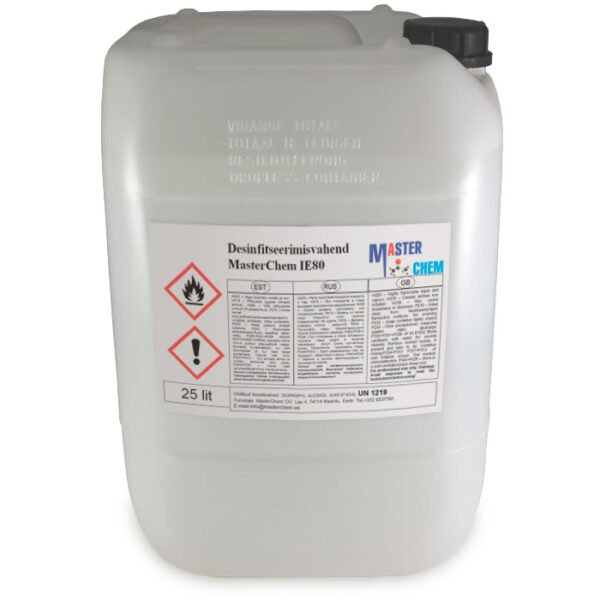 MasterChem IE80 disinfectant 25l MaterChem