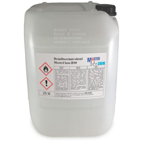 MasterChem IE80 disinfectant 25l MaterChem