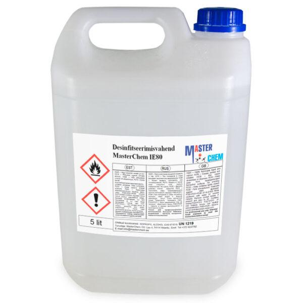 MasterChem IE80 disinfectant 5l MaterChem