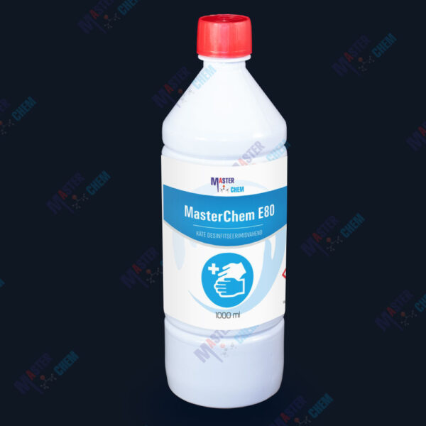E80 disinfectant for HANDS 1l MasterChem