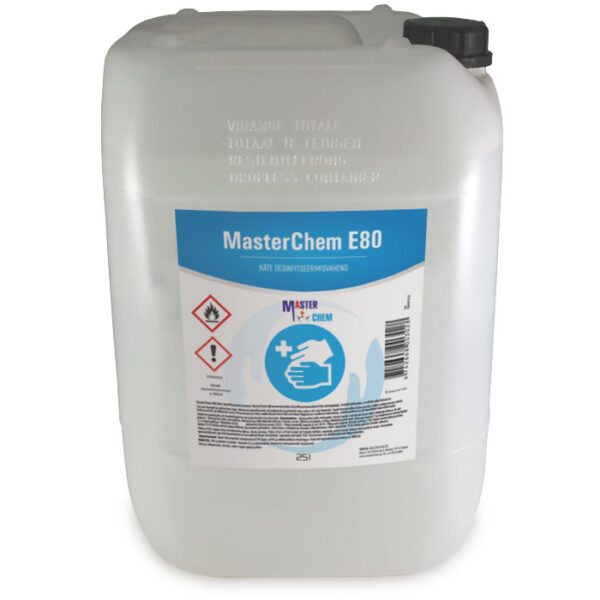 E80 disinfectant for HANDS 25l MasterChem