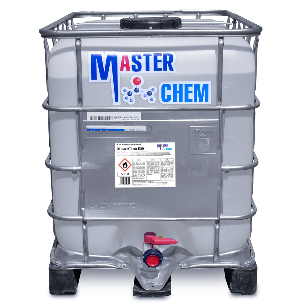 MasterChem E80 disinfectant for HANDS 500l