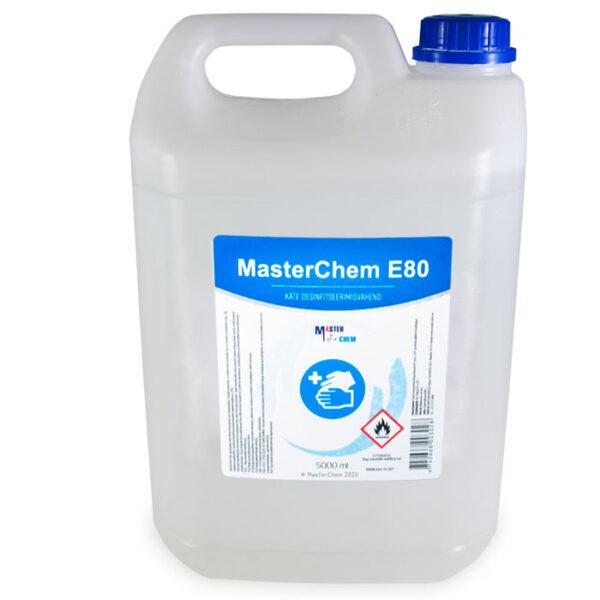 E80 disinfectant for HANDS 5l MasterChem