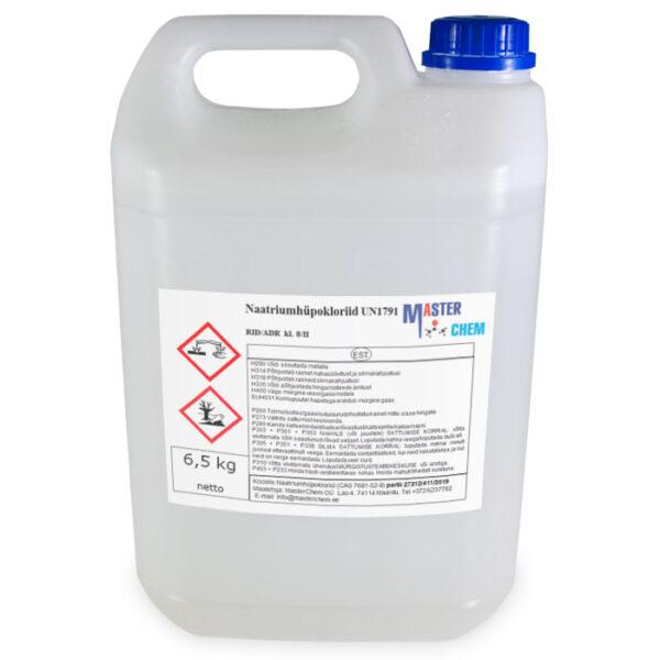 Naatriumhüpoklorit 12-15% CAS 7681-52-9 5l MasterChem
