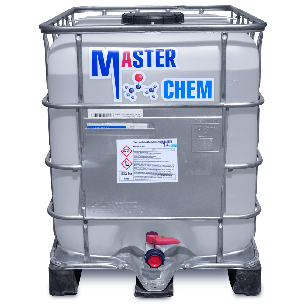 Гипохлорит натрия 12 - 15% CAS 7681-52-9 640l MasterChem