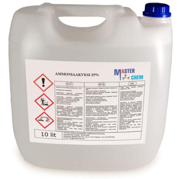 Ammoniaakvesi 25% 10l MaterChem
