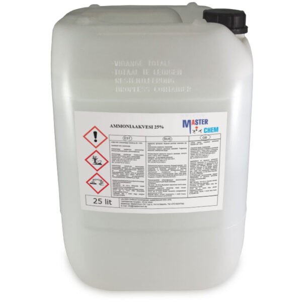 Ammoniaakvesi 25% 25l MaterChem
