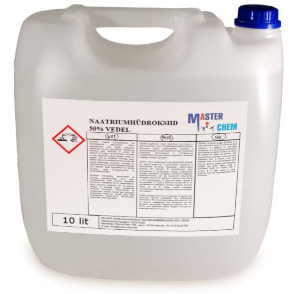 Naatriumhüdroksiid 50% vedel 10l MaterChem