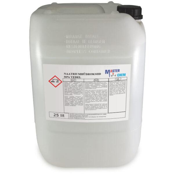 Naatriumhüdroksiid 50% vedel 25l MaterChem