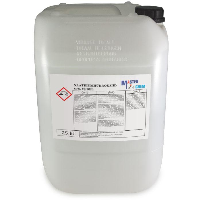 Natriumhydroksidi Käyttö