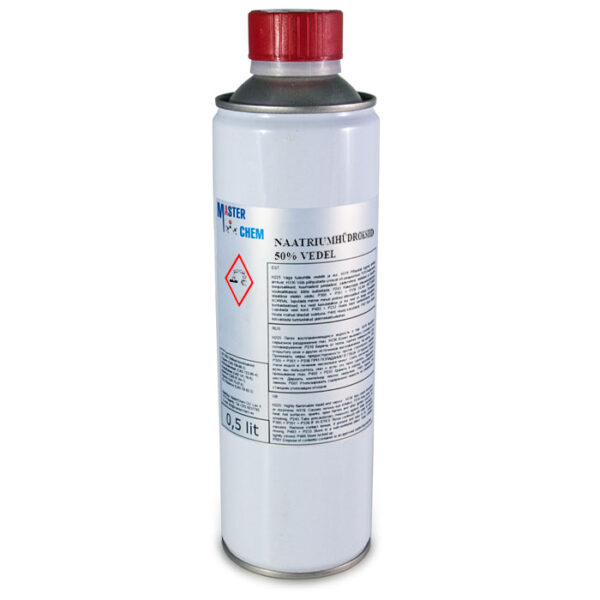 Naatriumhüdroksiid 50% vedel 500ml MaterChem