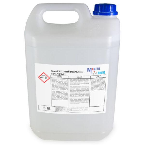 Naatriumhüdroksiid 50% vedel 5l MaterChem