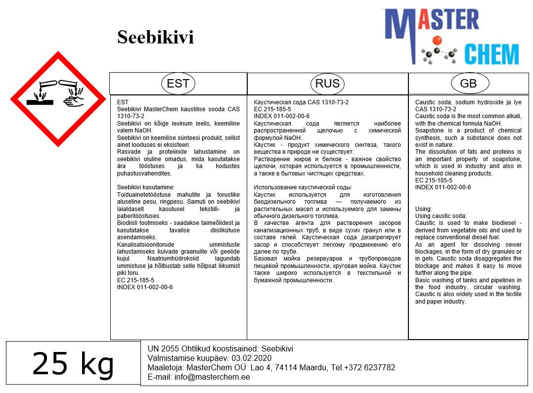 Seebikivi Masterchem