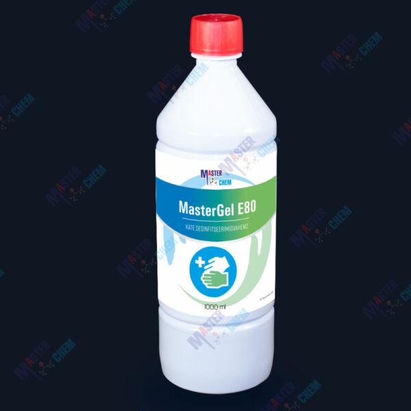 Desinfitseerimisgeel kätele MasterGel E80 desinfitseerimisvahend 1L
