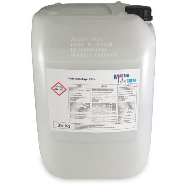 Ortofosforihappo 85% 35kg MaterChem