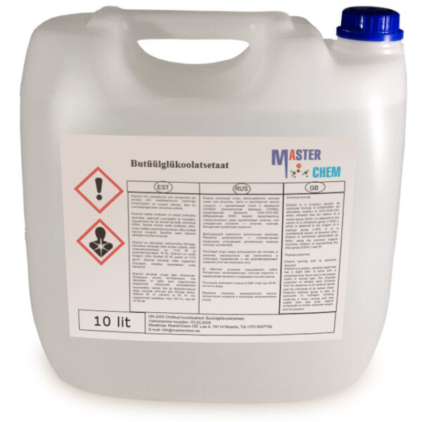 Butüülglükoolatsetaat (CAS 112-07-2) 10l MaterChem