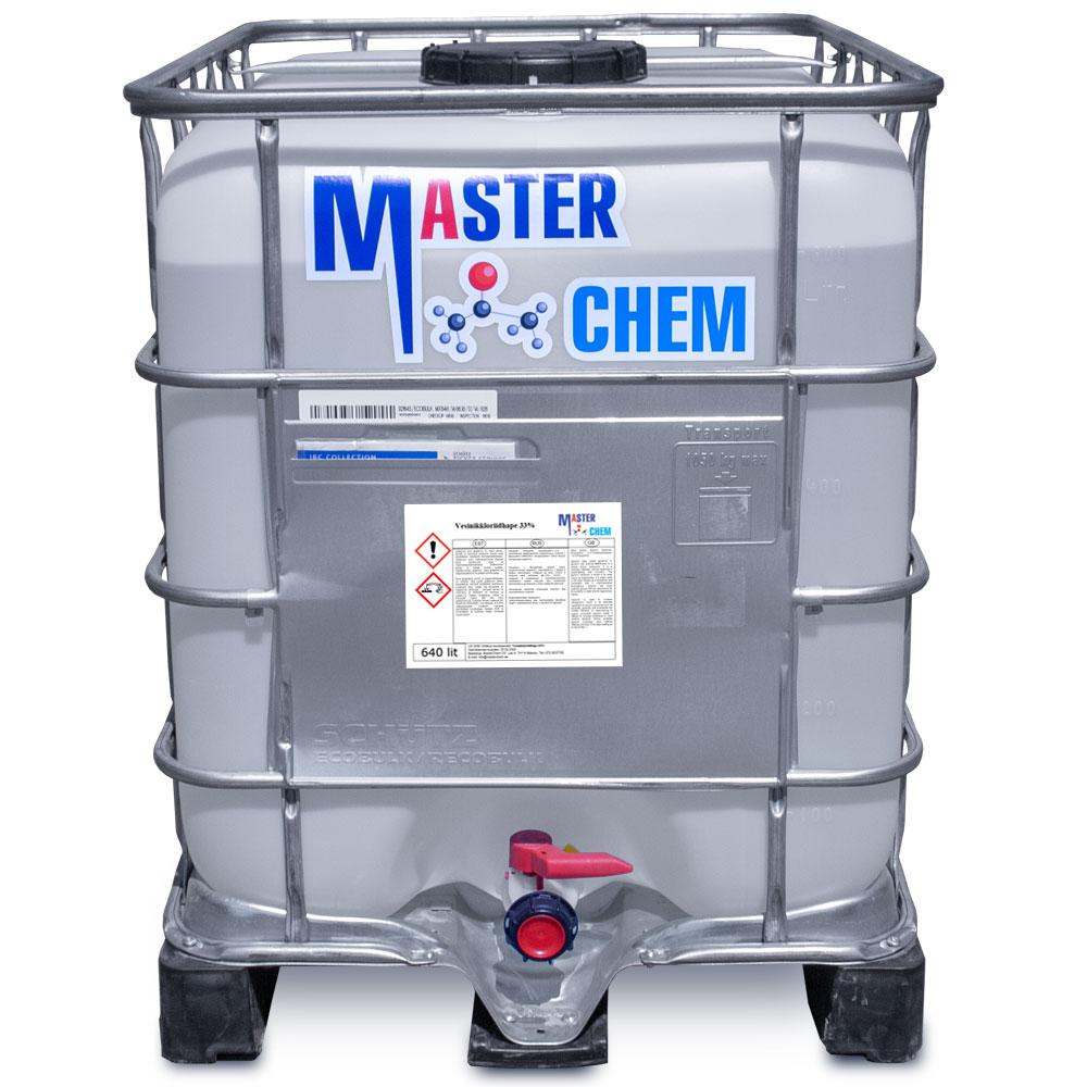 Соляная кислота 33%, 37% (CAS 7647-01-0) 640l MaterChem